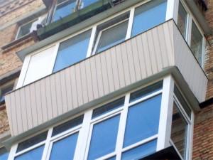 вынос балкона, увеличение лоджии