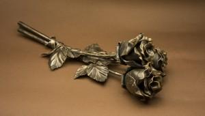 кованые розы, киев, кованые цветы киев