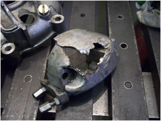 аргоновая сварка алюминия, двигателей, алюминиевый двигатель, ремонт, ремонтные работы