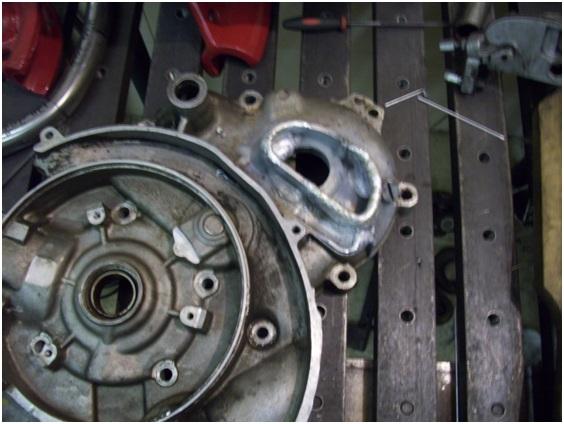 сварка ремонт алюминий двигатель