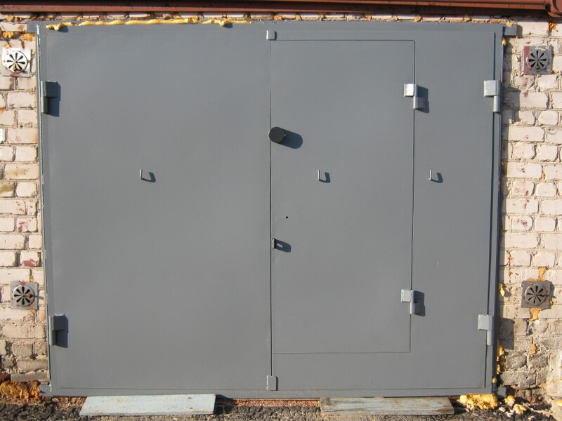 изготовление гаражных ворот киев